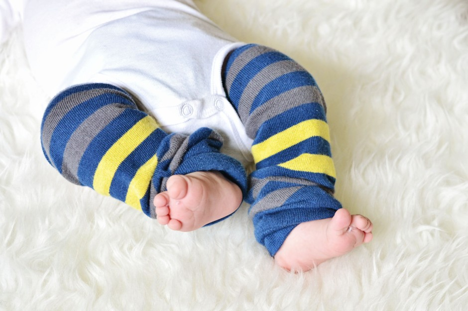 baby must haves -- leg warmers